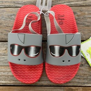 Slide Sandals by First Steps/Stepping Stone